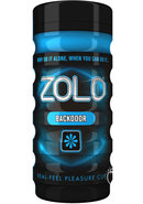 Zolo Back Door Cup Masturbator - Blue